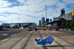 Handfat för Auckland viadukthamn Royaltyfria Foton