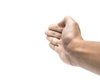 Handfingrar arkivfoto