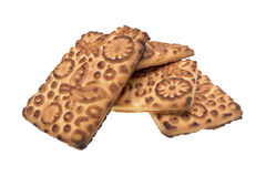 Handful of biscuits Royalty Free Stock Images