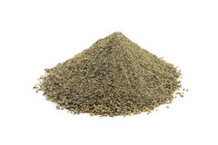 A handful of black pepper Stock Image