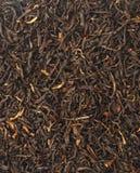 Handful of black tea leaves Stock Photos