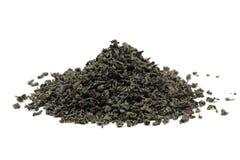 Handful of black tea leaves Royalty Free Stock Image