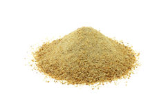 A handful of breadcrumbs Royalty Free Stock Image