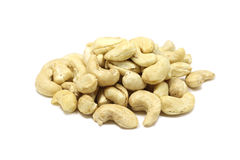 Handful of cashew kernels Stock Photography