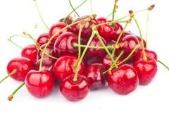 Handful of cherries Royalty Free Stock Photos