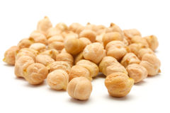 A handful of chick-pea Stock Image