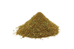 A handful of chopped herbs Stock Photo