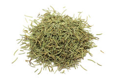 A handful of chopped stalks of rosemary Royalty Free Stock Images