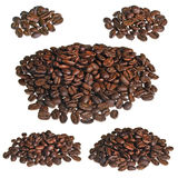 Handful of coffee Stock Photo