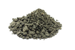 A handful of construction gravel Stock Image