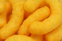 A handful of corn sticks  background Stock Photography