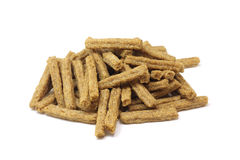 A handful of crispy crackers Stock Photos
