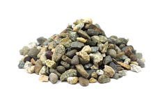 A handful of crushed stone Stock Photos