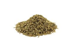 A handful of cumin seeds Royalty Free Stock Photography
