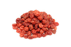 A handful of dried cherry Stock Images