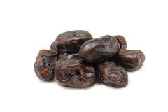A handful of dried dates Royalty Free Stock Image