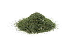 A handful of dried dill Stock Image