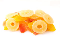 Handful of dried fruits Stock Photography