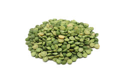 A handful of dried green peas Stock Image