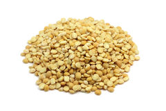 A handful of dried pea seeds Royalty Free Stock Image