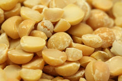 A handful of dried peas beans Stock Photography