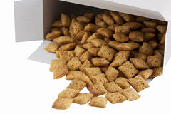 Handful of dry cereal Royalty Free Stock Photo