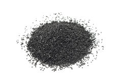 A handful of fine coal Stock Photos