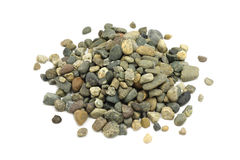 A handful of fine gravel Royalty Free Stock Photos