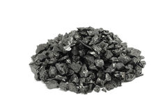 A handful of fractional coal Stock Photography