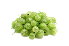 A handful of gooseberries Royalty Free Stock Photos
