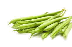 Handful of green beans Royalty Free Stock Photo