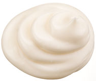Handful of mayonnaise. royalty free stock photo