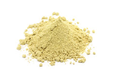 A handful of mustard powder Stock Images