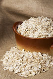 A handful of oatmeal Royalty Free Stock Photos