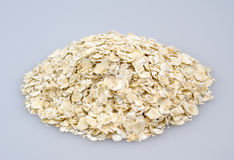 A handful of oats Royalty Free Stock Photo