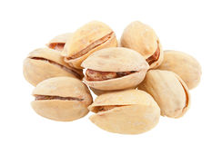 A handful of pistachios. Stock Photography