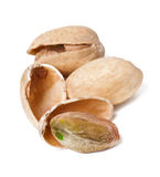 Handful of pistachios Royalty Free Stock Photos