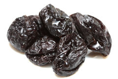 Handful of prunes Royalty Free Stock Photos
