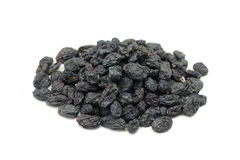 A handful of raisins black Stock Images