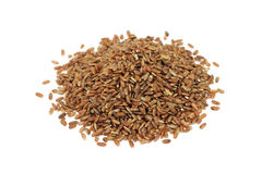 A handful of rice grains Royalty Free Stock Photo