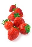 Handful of ripe strawberries Stock Photo