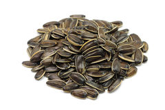 A handful of roasted sunflower seeds Stock Photos