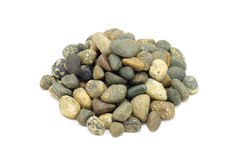 A handful of round stones Stock Images