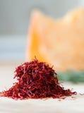 Handful of saffron Stock Images