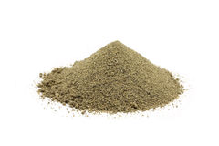 A handful of sand-clay mixture Royalty Free Stock Photography