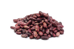 A handful of seeds of red beans Stock Photos