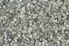 A handful of silver powder background Stock Image