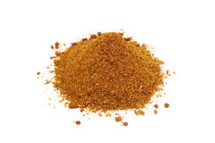 A handful of spice mix for meat Royalty Free Stock Image