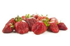 Handful of strawberries Royalty Free Stock Photo