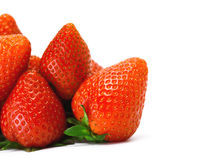Handful of strawberry Royalty Free Stock Photography